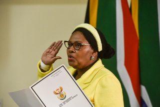 SA isn't xenophobic, protests were criminality – Mapisa-Nqakula