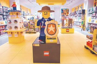 SA's first certified Lego store is a yellow wonderland