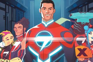 Ronaldo takes on robots and aliens in comic book series