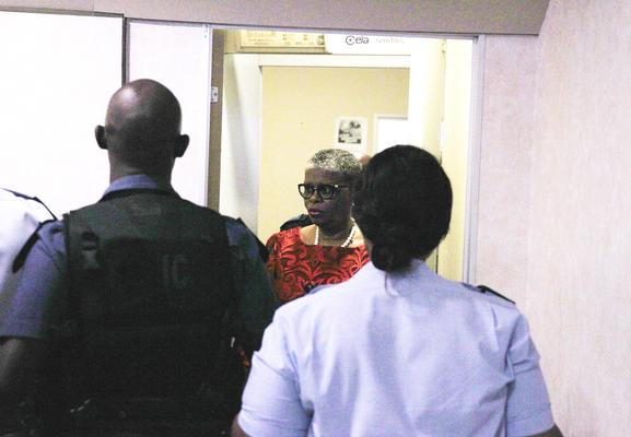 EThekwini Mayor Zandile Gumede leaving Durban commercials court, 14 May 2019. Gumede faces charges of corruption and money laundering Picture: Doctor Ngcobo / African News Agency (ANA)