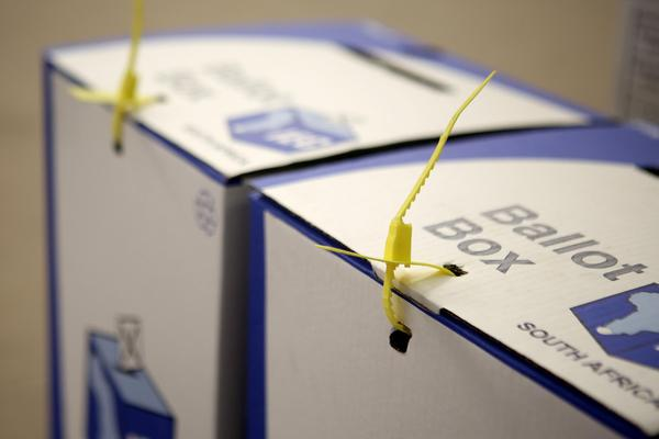 Ballot boxes. Picture: Brendan Magaar / African News Agency (ANA)