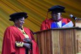 Deputy Minister Reginah Mhaule receives doctorate