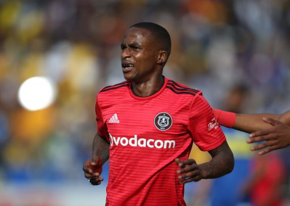 Thembinkosi Lorch of Orlando Pirates (Bertram Malgas/BackpagePix)