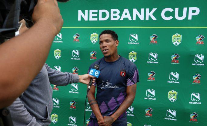 Sizwe Mdlinzo of TS Galaxy  (Muzi Ntombela/BackpagePix)