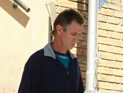 Convicted peadophile Carl Christiaan Lotter. Image: Lowvelder