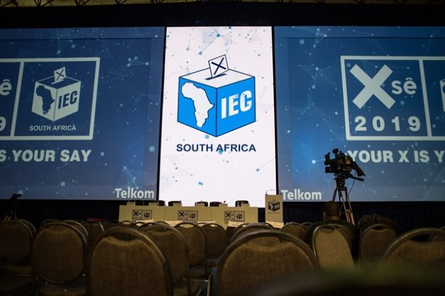 The IEC Results Centre at the Pretoria Showgrounds is ready before the elections taking place on the 8th of May, 7 April 2019, Pretoria. Picture: Jacques Nelles