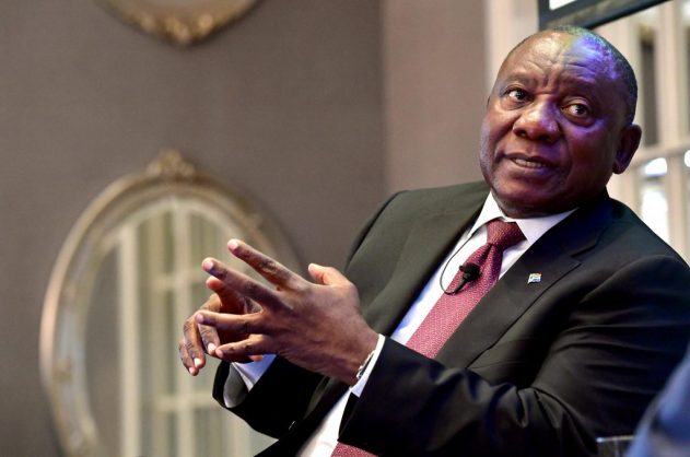 Ramaphosa sworn in as South Africa's president