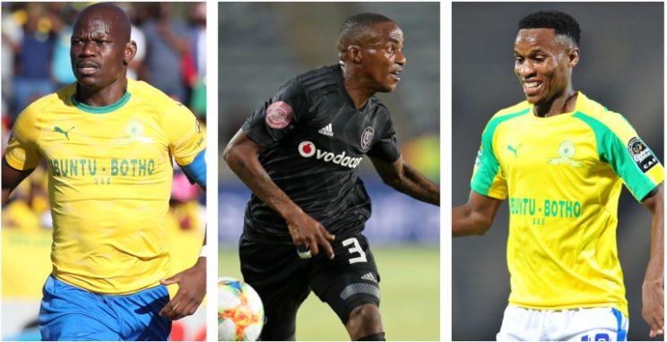 Hllompho Kekana, Thembinkosi Lorch and Themba Zwane will compete for the Footballer of the Season award.