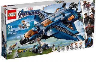 MARVEL LEGO® SETS UP FOR GRABS!