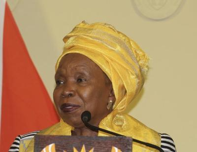Lack of skills, opportunities to blame for corruption in municipalities, says Dlamini Zuma