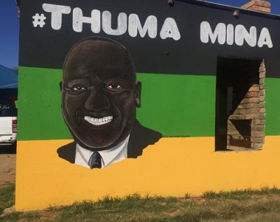 Rasta distances himself from Ramaphosa painting