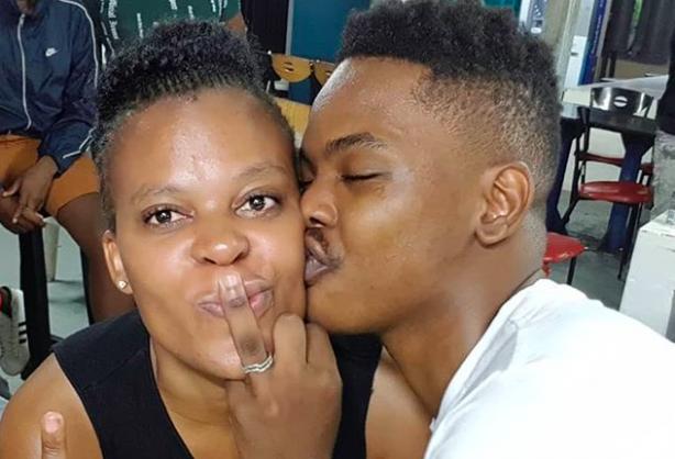Zodwa Wabantu and her fiance