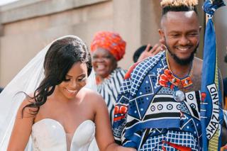 Kwesta and Yolanda turn their wedding visuals into a music video