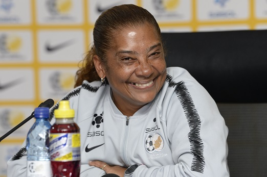 Desiree Ellis during the South African national womens soccer team squad announcement at SAFA House on May 17, 2019 in Johannesburg, South Africa. (Photo by Lee Warren/Gallo Images)