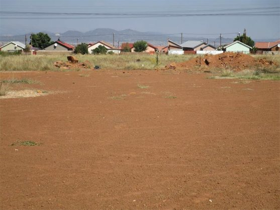 Residents Soshanguve Block WW are not happy that their former sports ground will be developed for houses to be built on.