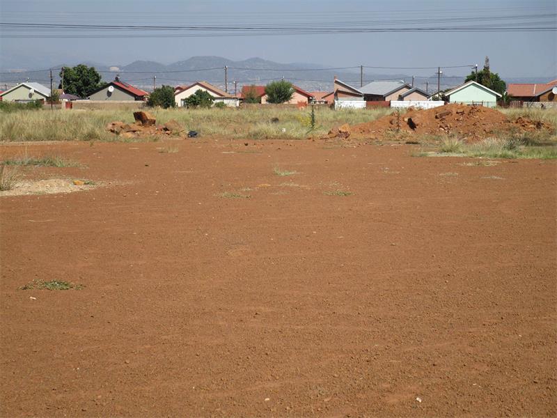 Soshanguve residents say no to housing development, demand soccer field
