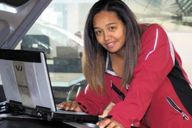 Cape Town mom becomes SA's first female Audi master technician
