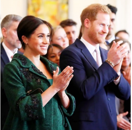 The Duke and Duchess of Sussex. Picture: sussexroyal/Instagram