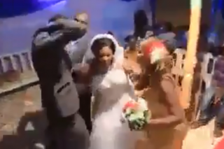 WATCH: Groom beats best man for 'hugging his bride too tightly'
