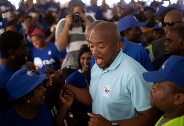 EFF most googled party, while Maimane the most searched politician
