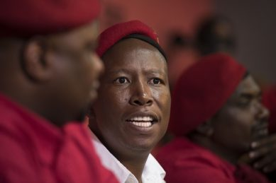 Malema tells Ramaphosa: We elected you, not the Ruperts or Oppenheimers