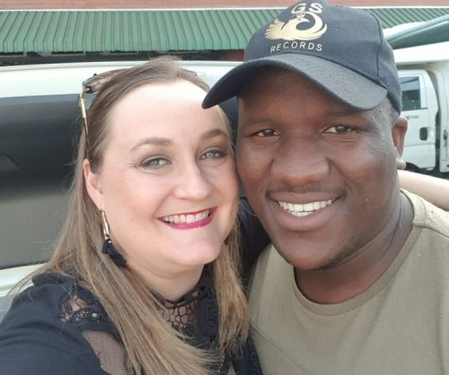Kim Davey was blow away by her Uber driver, Menzi Mngoma's singing voice.