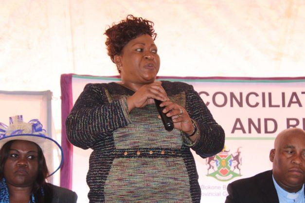 Madibeng mayor Jostina Mothibi. Image: Twitter/@NWPGOV