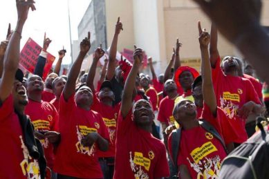 Numsa on strike at Videx Mining over compensation for production targets