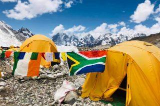 Saray Khumalo expected at Everest Base Camp today