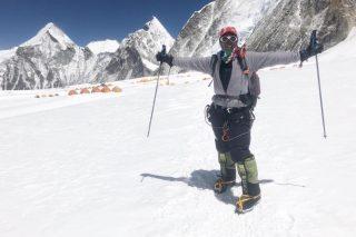 Saray Khumalo safe at Everest base camp after epic trek