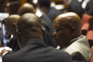 Zuma 'has to sell hats, socks' for legal fees
