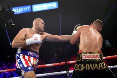 Fury batters Schwarz, eyes Wilder rematch