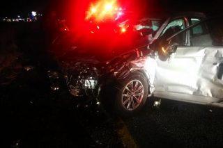 Man dies, woman critically injured in four-vehicle collision in Pretoria