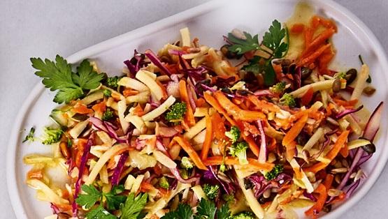 Recipe: Healthy coleslaw