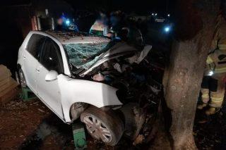 Man dies, another injured as car slams into tree in Gauteng