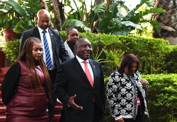 Ramaphosa says he feels relaxed ahead of Sona