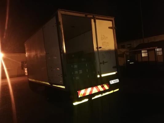 Three Somali nationals arrested with stolen truck with 42 new TV sets