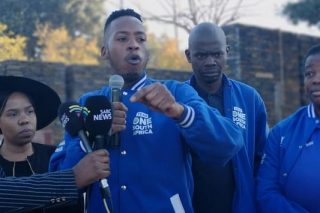 The struggle continues, says DA youth leader Mphithi