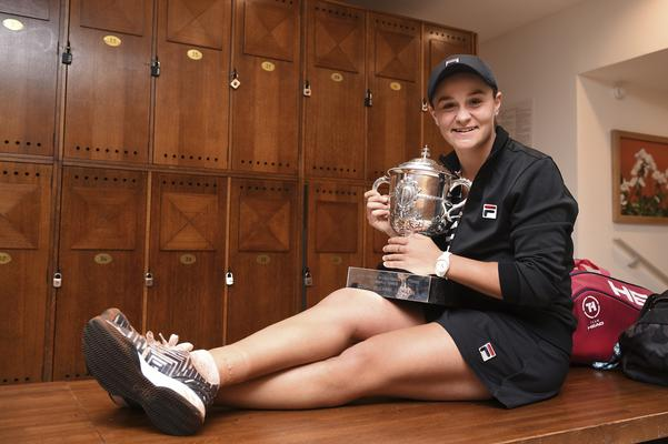Former professional cricketer Barty's unlikely French Open win