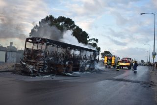 Vehicles torched as Philippi East residents demand toilets