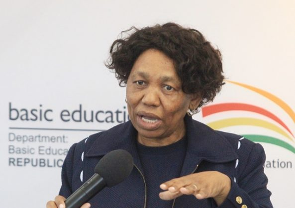 Minister of Basic Education Angie Motshekga. Picture: Jacques Naude / African News Agency (ANA)