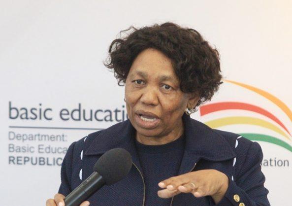 'No,no, no,' for death penalty, says Angie Motshekga