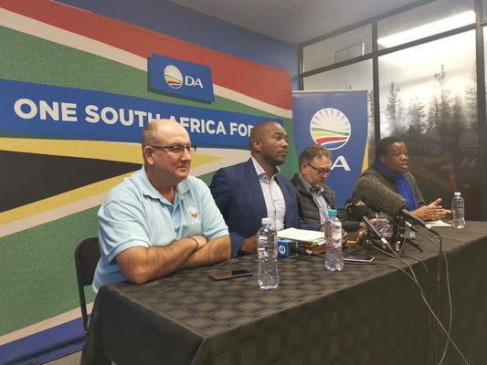 Root causes of SA's economic woes are political, not monetary, says Maimane