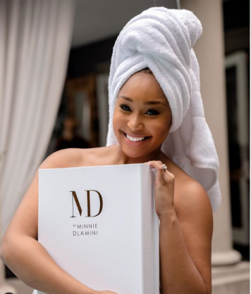 It's official! Minnie Dlamini is going to be a mom