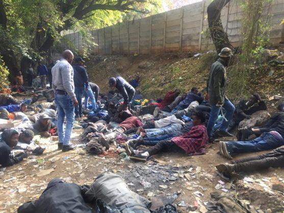 Police bid to rid Pretoria CBD of drugs nets 21 suspects