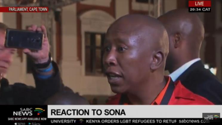 The ANC makes 'black people stupid' – Malema