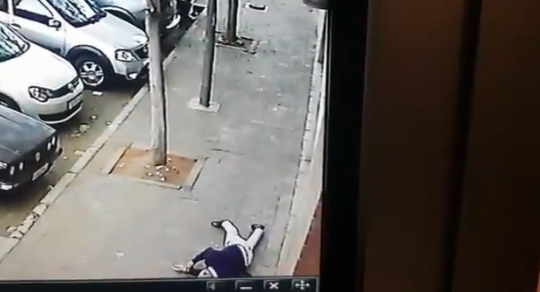 WATCH: Man shot dead in alleged hit in Joburg