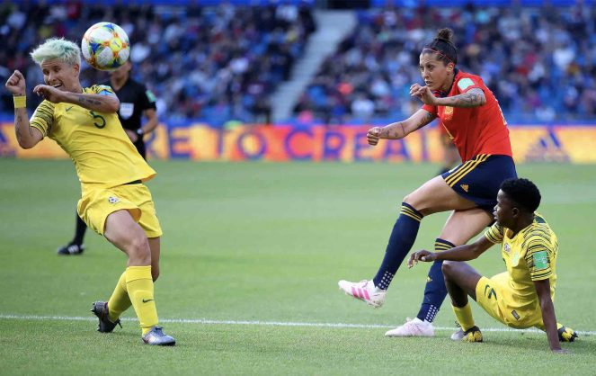 Jennifer Hermoso strikes twice from spot as Spain beat South Africa