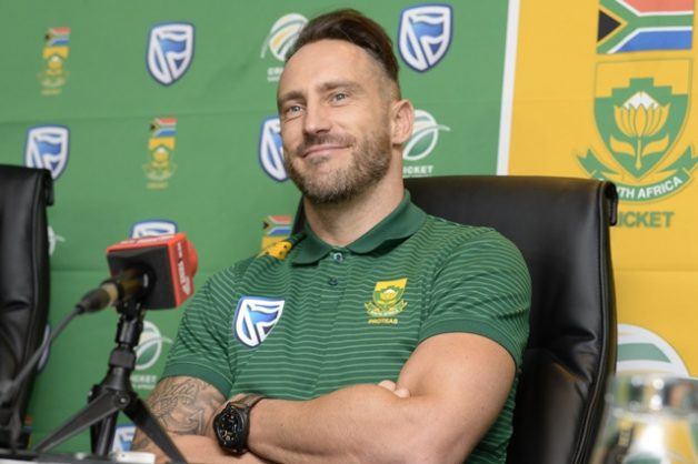 Faf du Plessis of the Proteas during the South African national men's cricket team squad departure press conference at Powerade Centre of Excellence on May 18, 2019 in Pretoria, South Africa. Picture: Lee Warren / Gallo Images