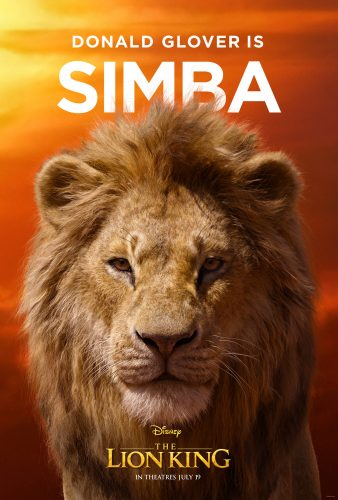 "character posters for Disney's ""The Lion King"""
